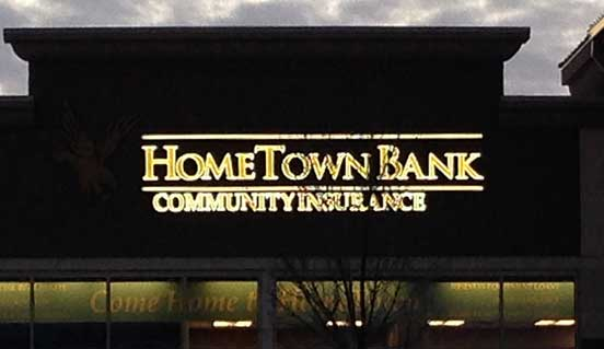 CD Products in Waconia creates illuminated exterior signs.